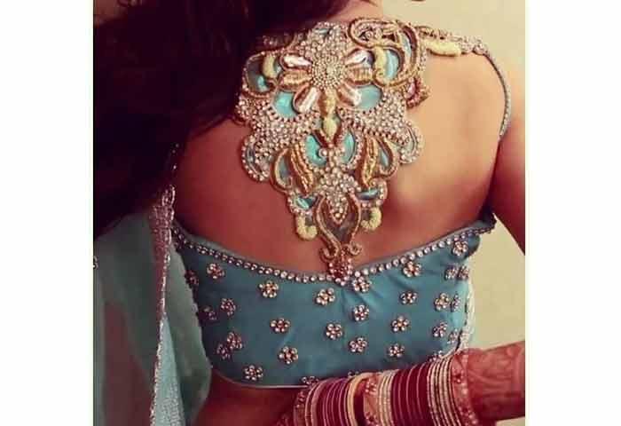 stone-work-blouse-design