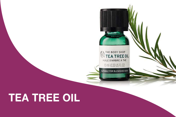 tea tree oil for dry itchy scalp