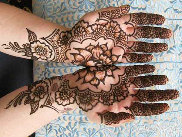 Mehndi Flower Designs For Hands : Latest and stylish floral mehndi designs for hands