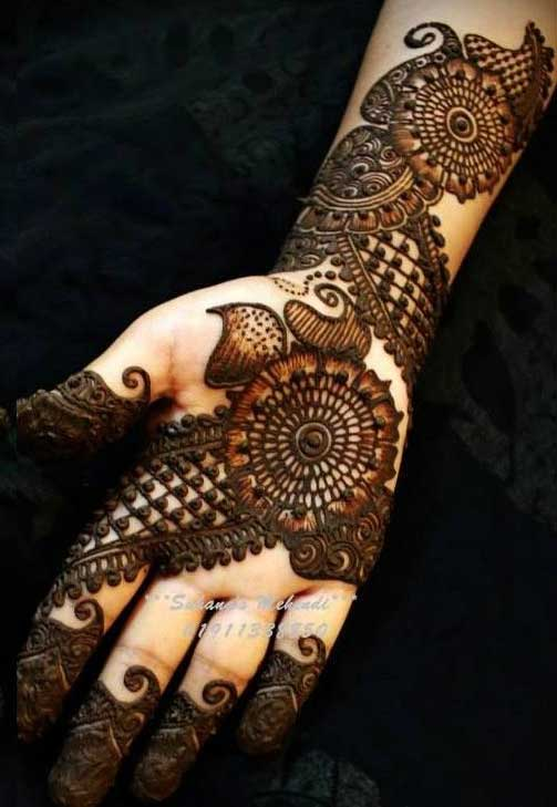 Top 40 Eye Catching Arabic Mehndi Designs Latest Collection