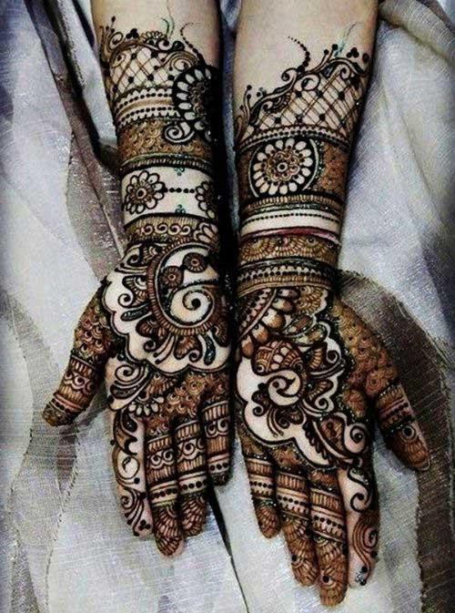 top 40 eye catching arabic mehndi designs   latest collection