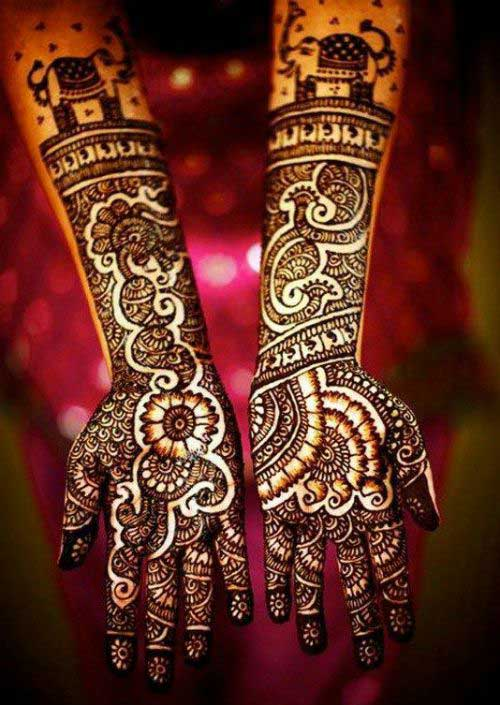Mehndi Patterns For Brides : Simple and easy bridal mehndi designs for your wedding day