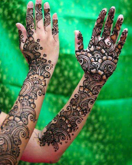 Ladies Hands Mehndi : Simple and easy bridal mehndi designs for your wedding day