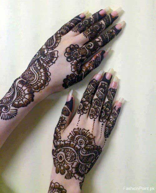 20 Latest Beautiful Pakistani Mehndi Designs