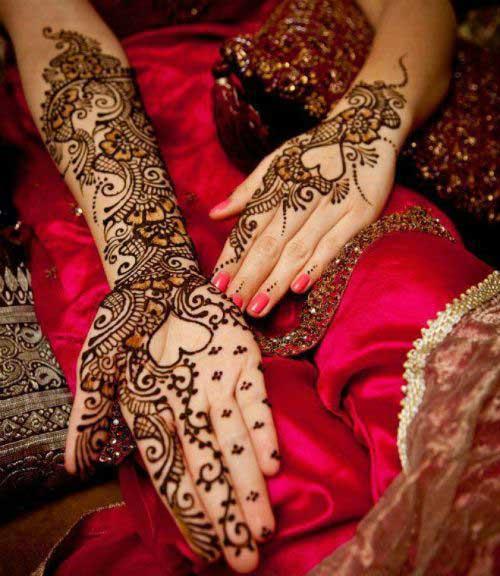 Very Beautiful Bridal Mehndi Designs : Simple and easy bridal mehndi designs for your wedding day