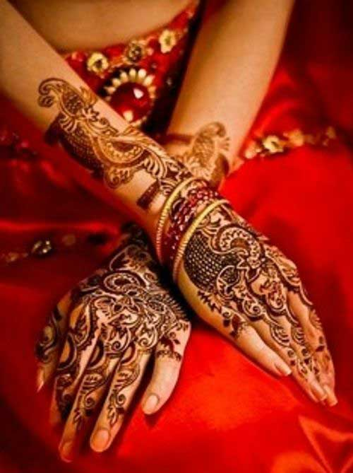 Easy Bridal Mehndi : Simple and easy bridal mehndi designs for your wedding day