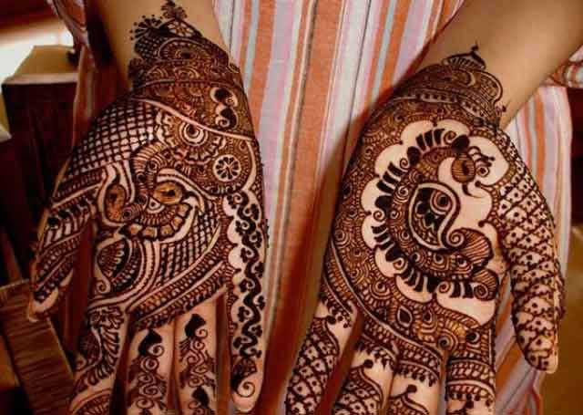 Mehndi Henna Designs Peacock : Latest peacock mehndi designs for hands