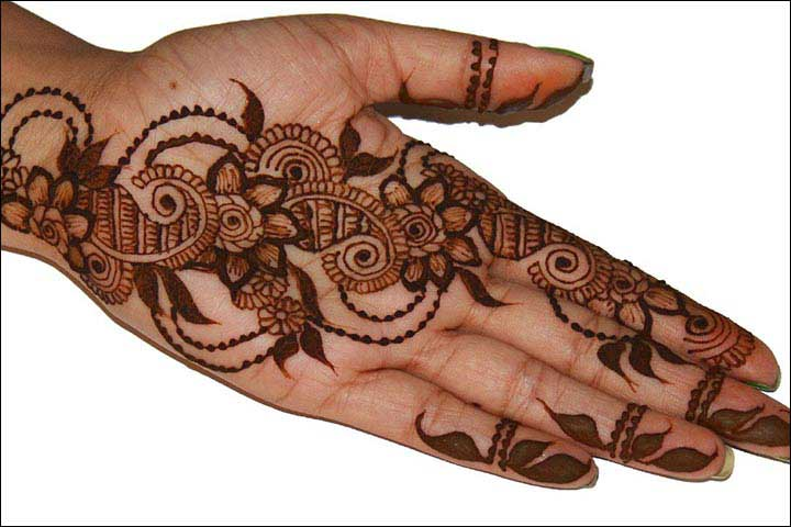 alternate-paisley-and-flower-design-dubai-mehndi-designs