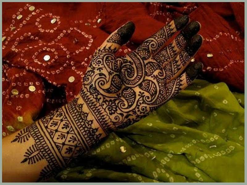 arabic-mehendisimple-bridal