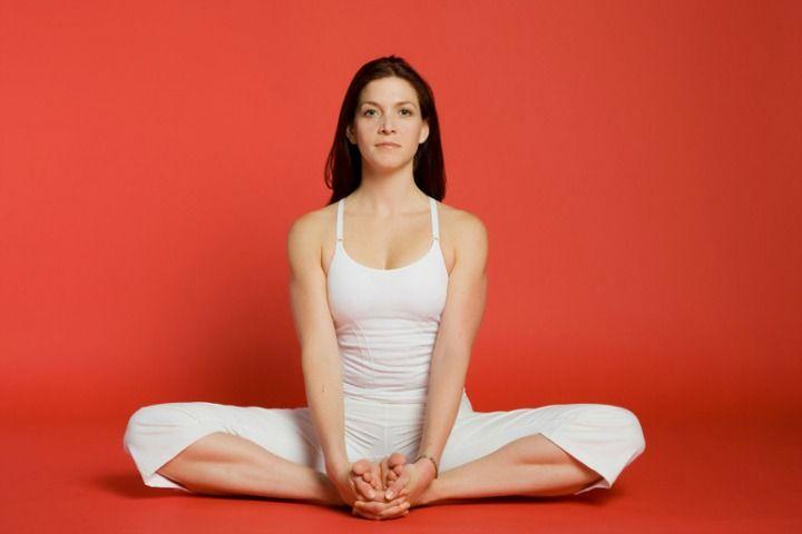 baddha-konasana bound angle pose