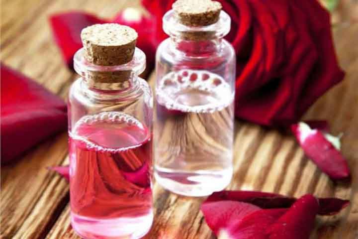benefits of using rose water