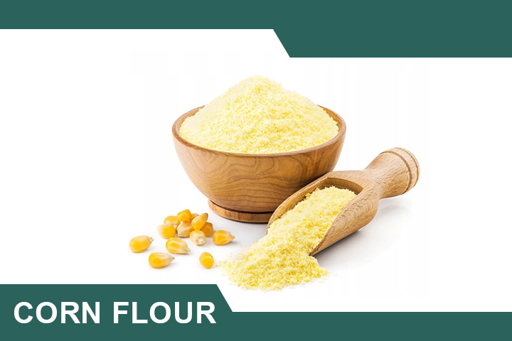 Corn Flour and Lemon for Dark Elbows