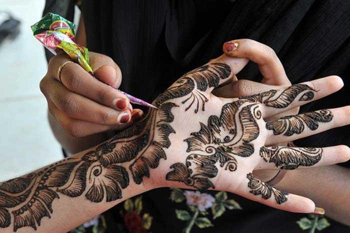 dubai-floral-mehndi-pattern