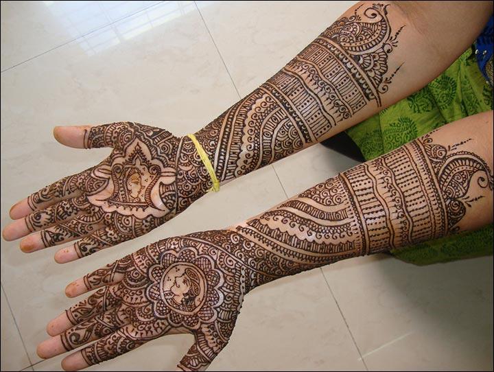 dulha-dulhan-mehndi-design-marwari-mehandi-designs