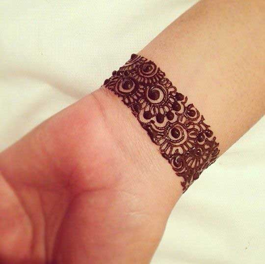 Mehndi Bracelet Design For Kids : Top latest bracelet style mehndi designs to inspire you