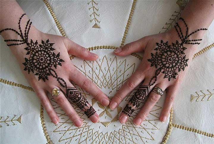 Flower Wali Mehndi : Top latest bracelet style mehndi designs to inspire you