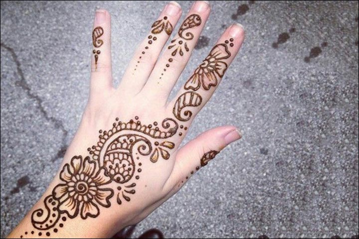 Easy Henna Designs For Kids: Top 10 Simple And Easy Beautiful Mehndi Designs For Kids