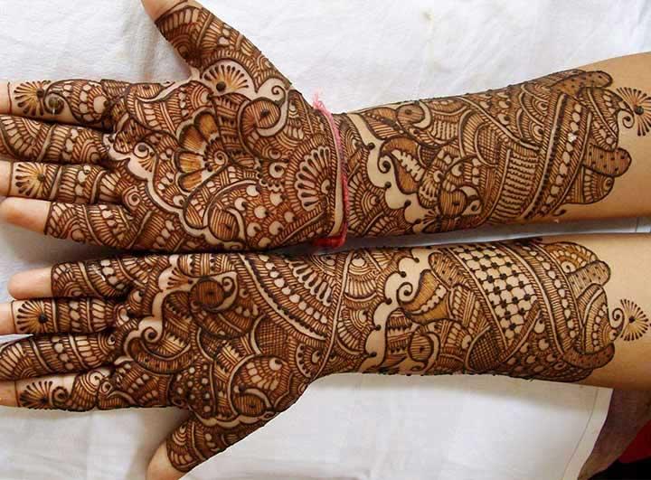gujarati-bridal-mehndi