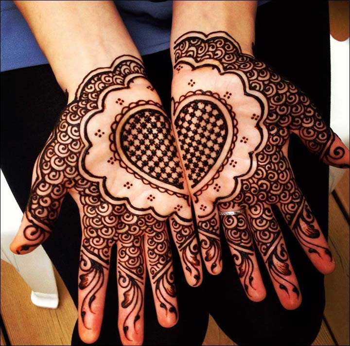 heart-and-circle-shape-dubai-mehndi-motif