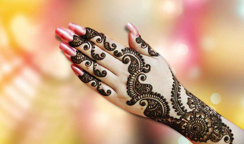 Mehndi Designs Latest New Style : Beautiful ring mehndi designs for your hands