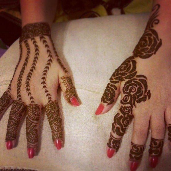 leaves-lines-mehndi-design