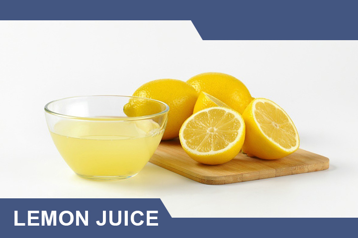 Lemon Juice for Dark Elbows