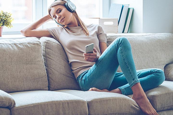 Listen to a pleasant music