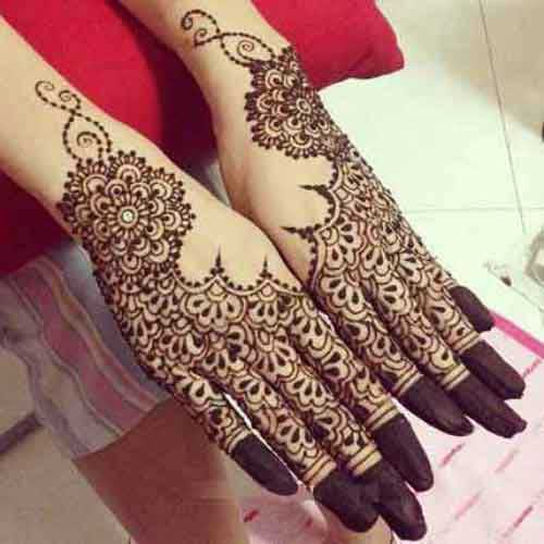 20 simple and latest gujarati mehndi designs for Henna tattoo designs for hands