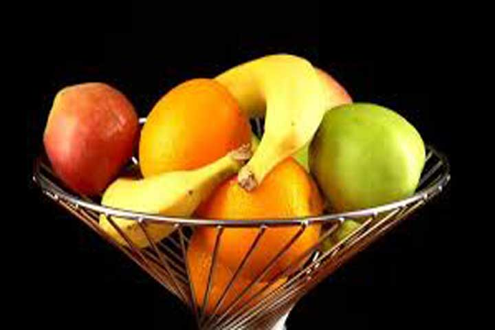 munch in fruits
