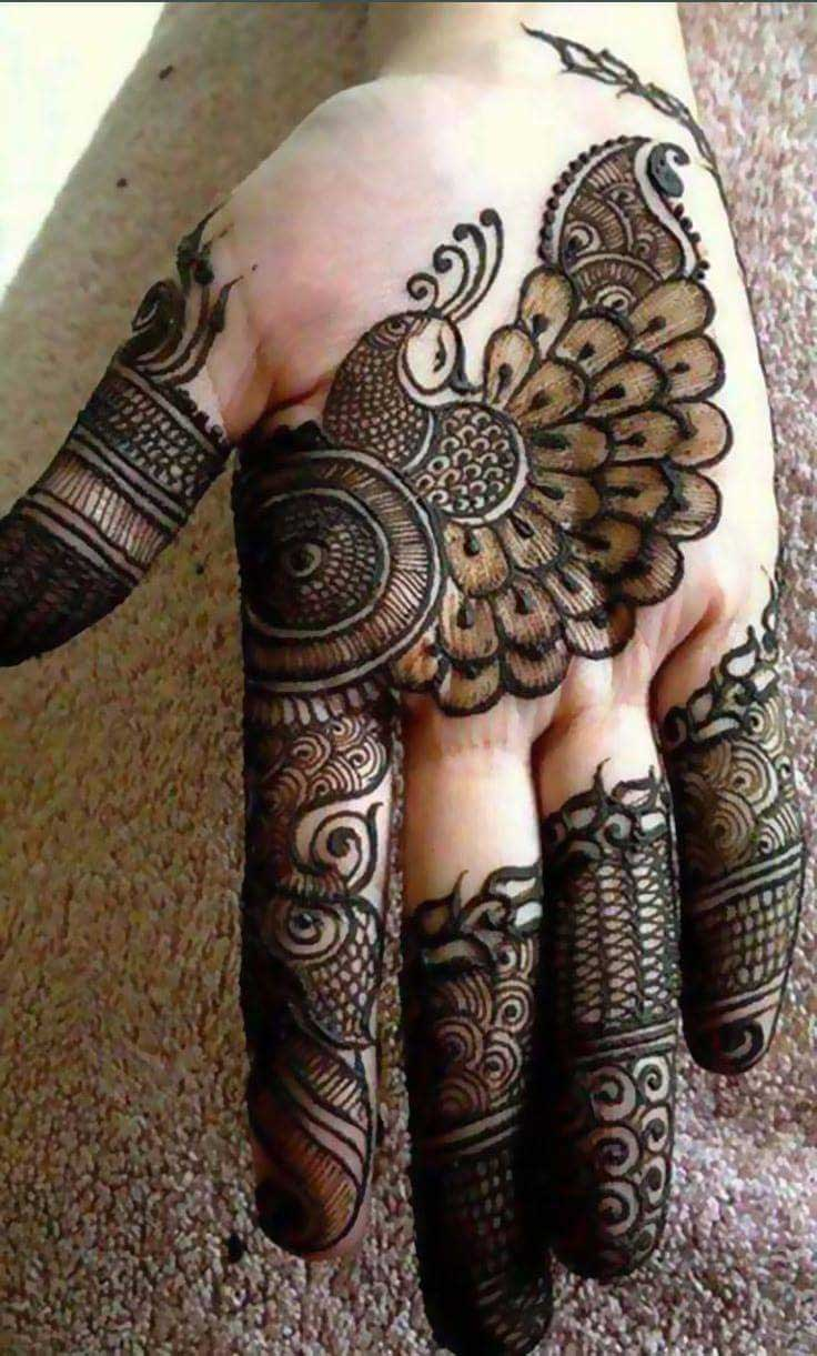 Dubai Mehndi Patterns : Top beautiful dubai mehndi designs for any fuctions