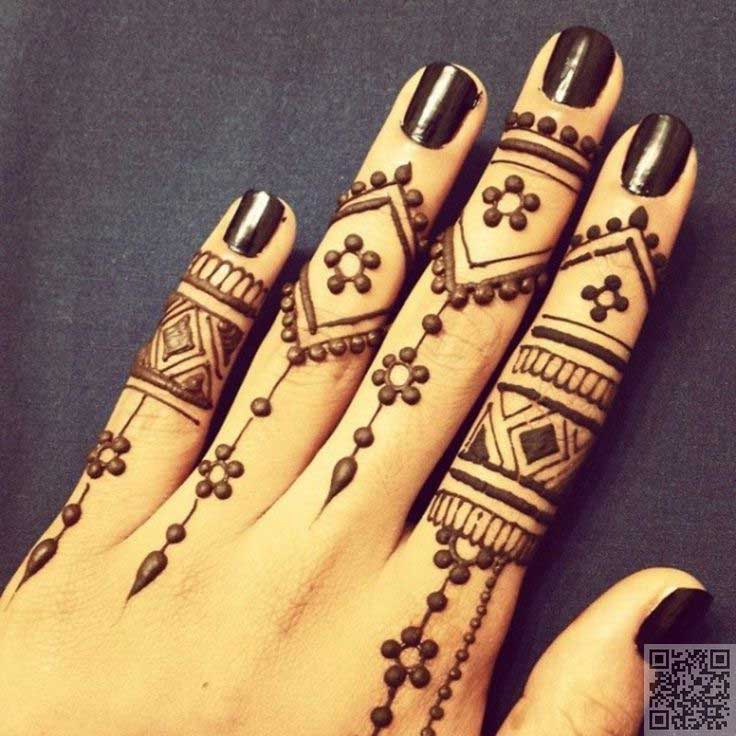 ring-mehndi-design-with-miniature-dots