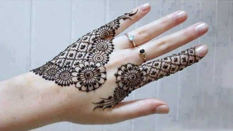 Mehndi Designs Upper Hands : Beautiful mehndi designs for fingers our best collection
