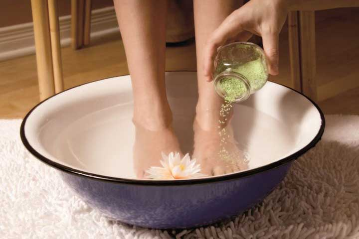 soak your feet