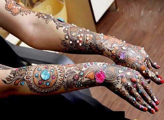 Mehndi Patterns For Small Hands : Latest and beautiful ramzan special mehndi designs