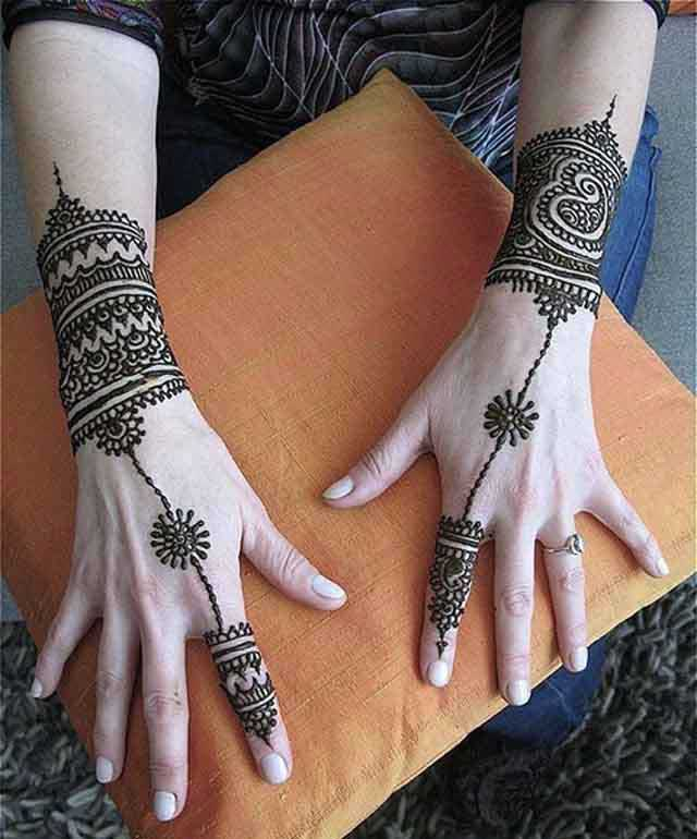 25 Beautiful Ring Mehndi Designs For Your Hands