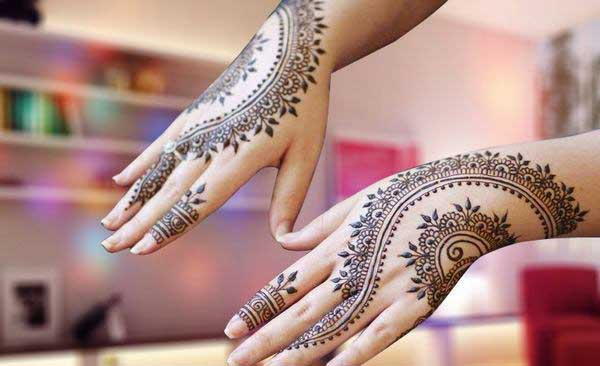 Fashionable Designer Mehndi
