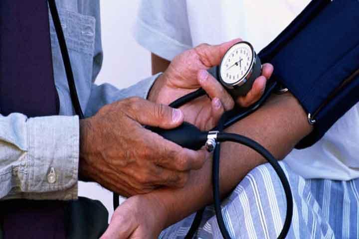 the blood pressure