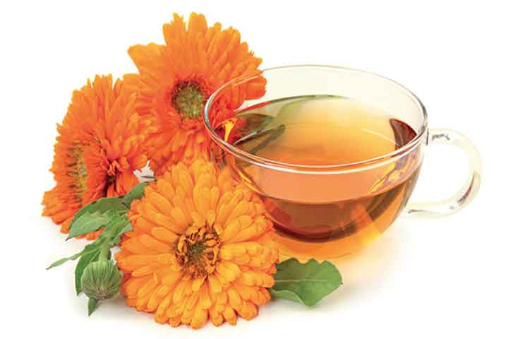 Using Calendula Oil