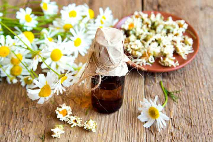 Using German Chamomile Oil