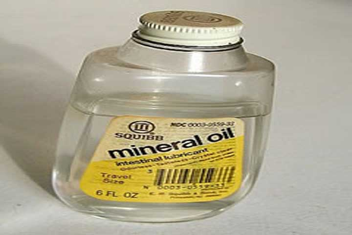 Using Mineral Oil