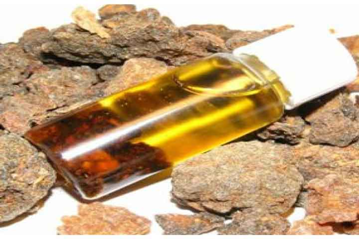 Using Myrrh Oil