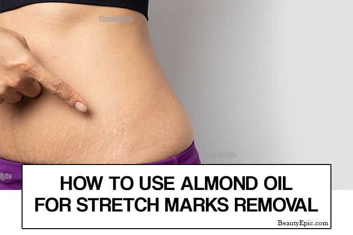 How to Use Almond oil for Stretch Marks?