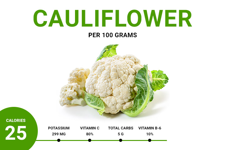 cauliflower calories
