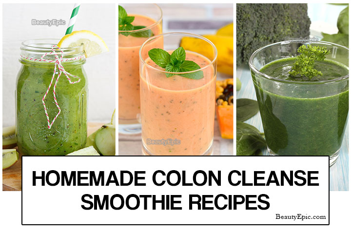 Homemade Colon Cleansing Smoothies – Benefits & Recipes