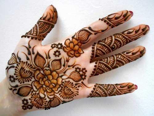 Front Hand Henna Mehndi Design : Latest and beautiful ramzan special mehndi designs