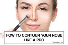 contour your nose like a pro