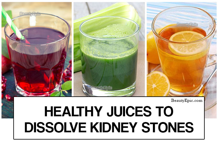 5 Healthy Juices to Dissolve Kidney Stones