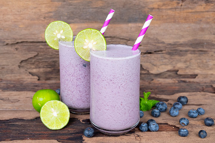 lemon berry smoothie for weight loss