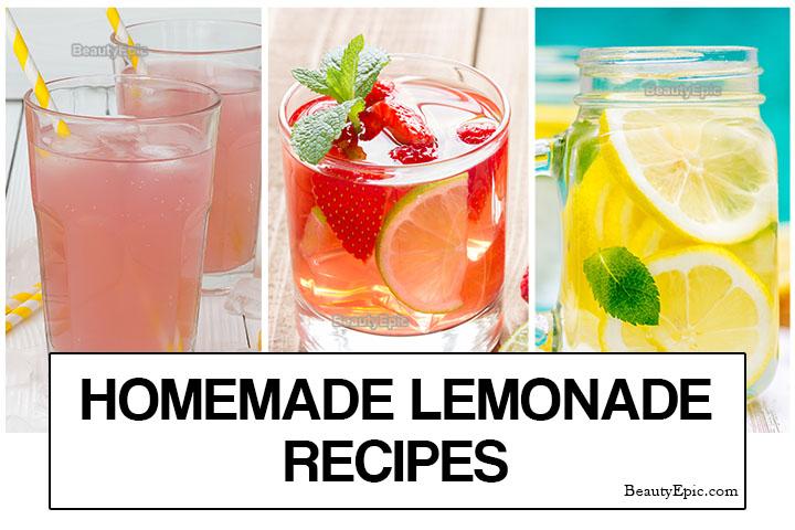 Lemonade Recipes – 5 Easy Homemade Lemonade Recipes for Summer Days