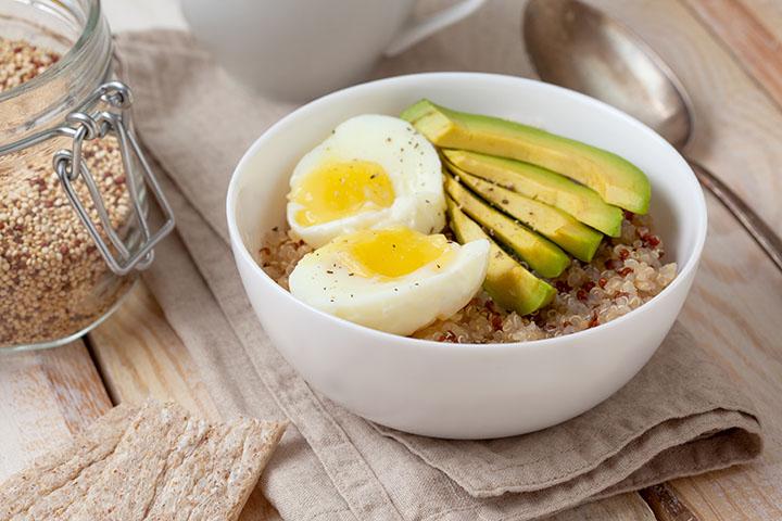 low carb avocado egg recipe